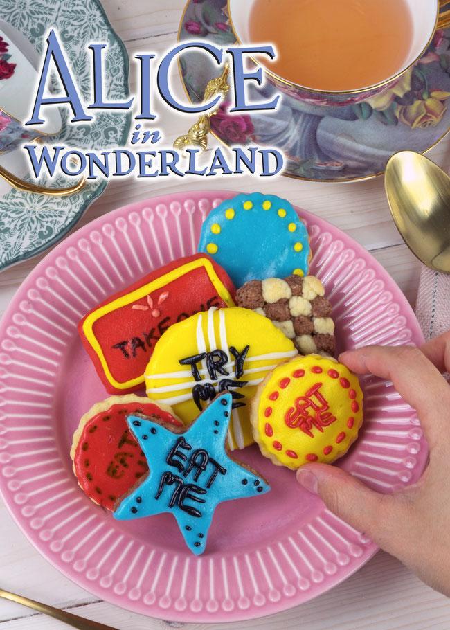 Bild Grinsekatze und Logo aus Alice im Wunderland © Disney
