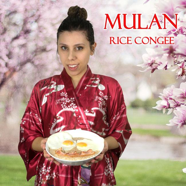 Bild Mushu und Grille aus Mulan und Mulan Logo © Disney