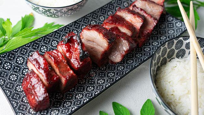 Char Siu Pork - Asiatisches Schweinefleisch Rezept - Mit Honig Marinade, super zart und lecker, asiatische küche, chinesische rezepte, chinesische küche