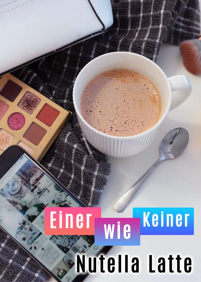 Nutella Latte aus dem Netflix Film Einer wie Keiner - Köstliches Nutella Kaffee perfekt zum Frühstück oder zu Kuchen - Schnelles und Einfaches Rezept