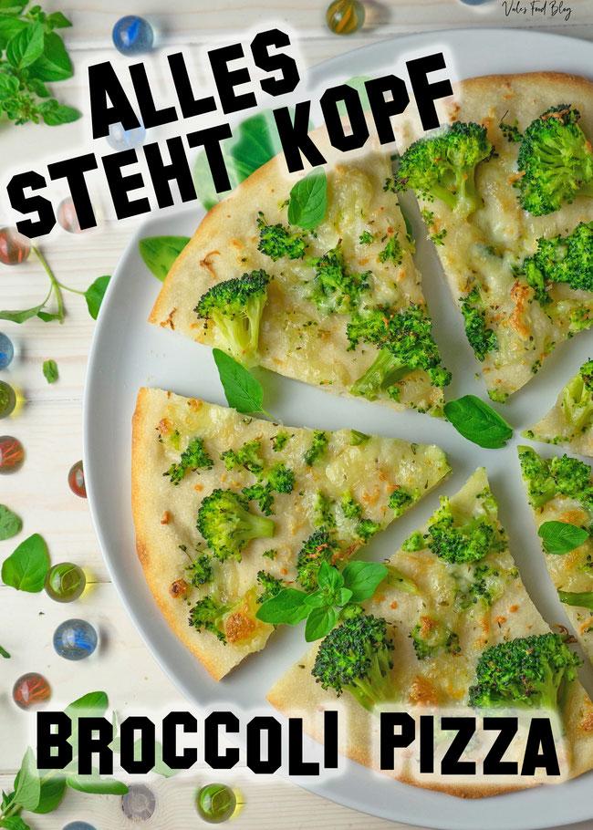 Broccoli Pizza aus Disney Film Alles steht Kopf