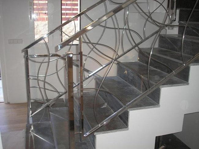 Barandillas dise o en acero inoxidable y cristal en - Pasamanos de cristal ...
