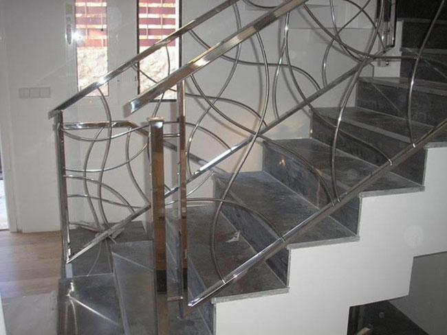 Barandillas en acero inoxidable y cristal en torrevieja - Barandilla de acero inoxidable ...