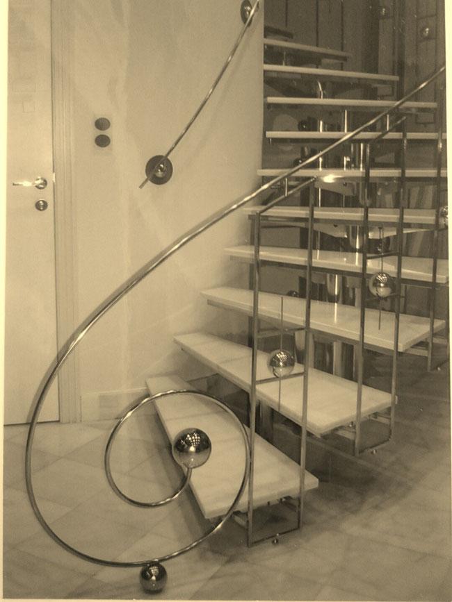 Escaleras de interior y exterior en murcia - Escaleras Laravid ...
