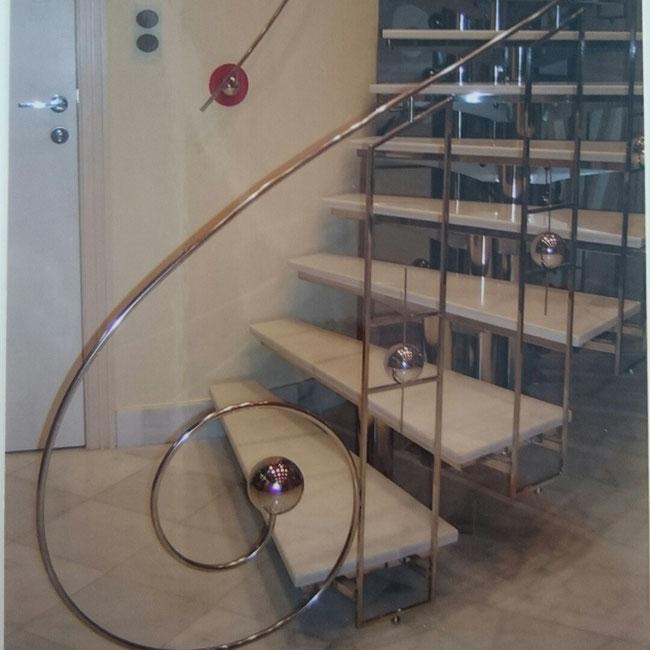Barandillas y pasamanos para casas en murcia escaleras - Barandillas de diseno ...