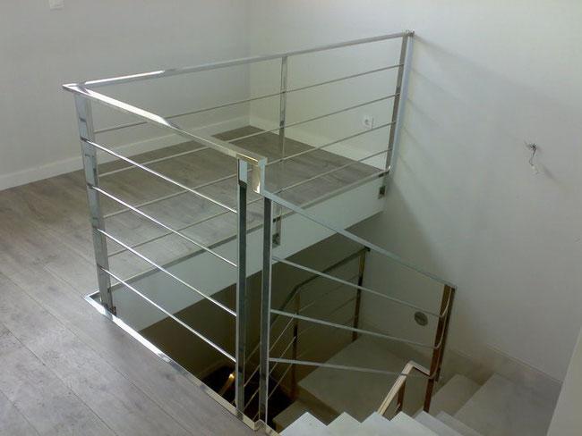 Barandillas y pasamanos para casas en murcia escaleras - Pasamanos de acero inoxidable para escaleras ...