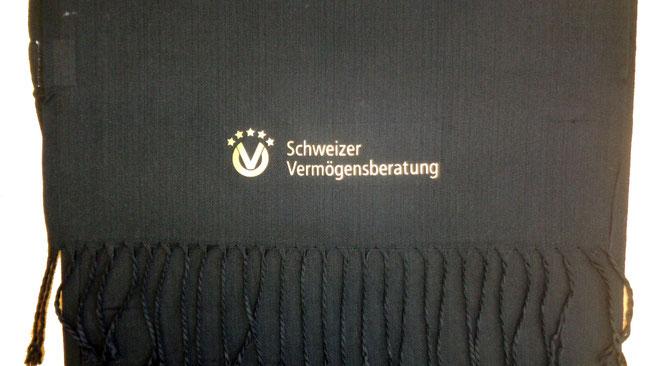 Schals mit Firmen Logo bedrucken
