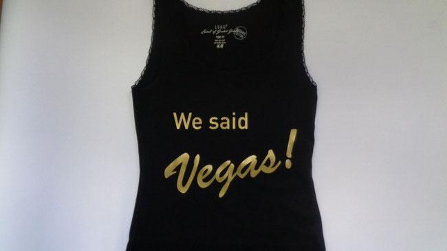 T-Shirts für Polterabend bedrucken lassen