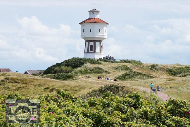 Der Wasserturm der Nordsee-Insel Langeoog