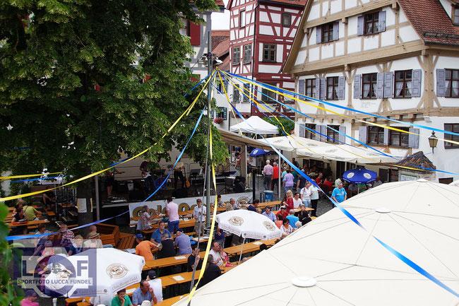 """Das Ulmer Altstadtfest """"Elf bis Elf"""" 2016."""