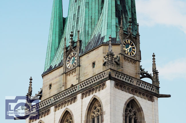 Die Ulmer St. Georg's Kirche.