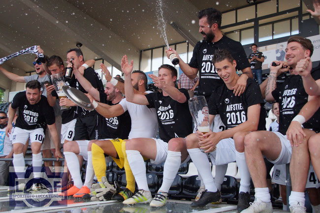 SSV; SSV Ulm; Ulm; Aufstieg; 46; SSV46; Oberliga; Meister; Aufstieg 2016; Sportfoto Lucca Fundel; Pascal Reinhardt