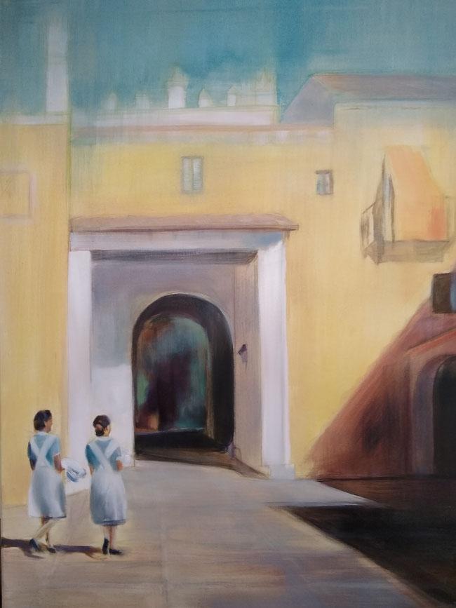 Zonnewijzer, 70 x 90 cm
