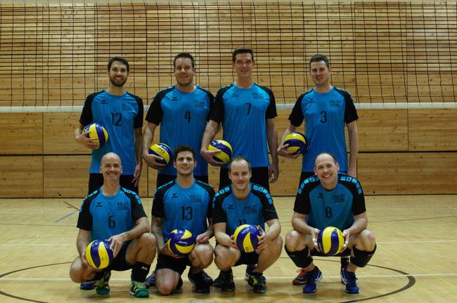 Hinten von links: Gian Cadisch, Andy Senn, Markus Feeser, Joachim Hallauer  Vorne von links:  Martin Melliger, Remo Coray, Stephan Balzer, Markus Vetsch
