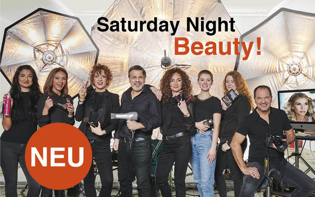 das Team Saturday Night Beauty