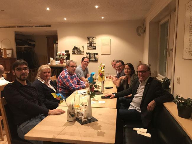 """Unsere liberale Afterworkparty im Hotel """"zum Alten Flecken"""""""