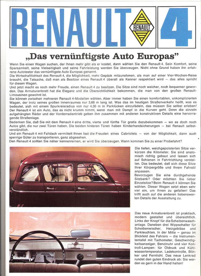 Werbung Renault