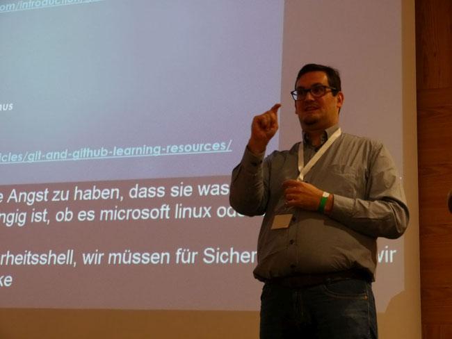 DeafIT Konferenz 2018: Florian Katzmayr aus Österreich