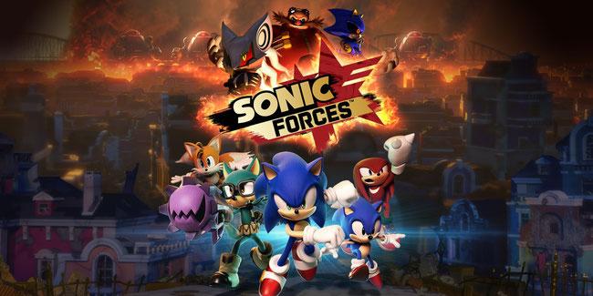 Sonic Forces, Sonic, Hedgehog, Knuckles, Tails, Eggman, Infinite, Shadow, Avatar, Jump & Run, Platformer, 3D, klassisch, Wispon, Sega, Havok