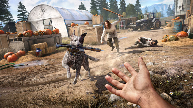 Far Cry 5, Joseph Seed, Ubisoft, Ubisoft Montreal, Hope County, Montana, Eden's Gate, Boomer, Shooter, Open World,  Rookie, Rook, Cheeseburger, Kult, Peggies, Father, Bliss, Jacob Seed