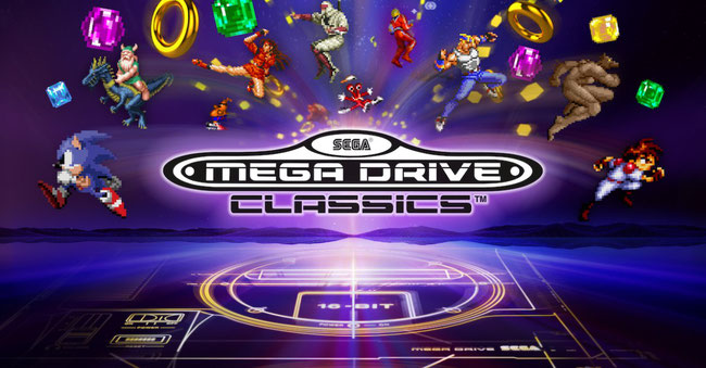 Sega, Mega Drive, Classics, Sonic, Altered Beast, Retro, Collection, Golden Axe, Shining Force, Tails, Spinball, Columns, Toejam, Earl, Funkotron, Alex Kidd, Landstalker, Beyond Oasis, Gunstar Heroes, Ristar, Phantasy Star, Streets of Rage, Shinobi