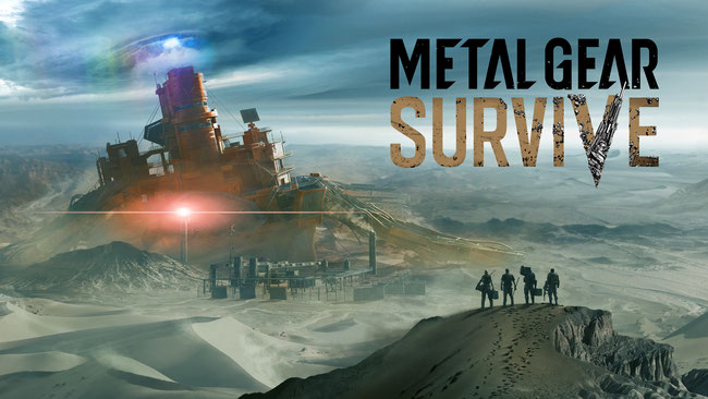 Metal Gear Survive, Konami, Zombies, Dite, Metal Gear, Big Boss, Snake, Phantom Pain, Spinoff, Coop, Basis Camp, Crafting, Sammeln, Fulton, Wormhole Digger, Stealth, Korekado, Virgil, Multiplayer, Reeve, Fox Engine