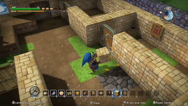 Dragon Quest, Dragon Quest Builders, Minecraft, Akira Toriyama, Hammer, Square Enix, bauen,