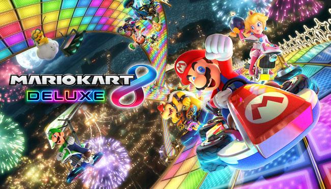 Mario Kart 8 Deluxe, Mario, Mario Kart, Mario Kart 8, Switch, Nintendo, Super Mario, Bowser, Yoshi, Kart, Deluxe