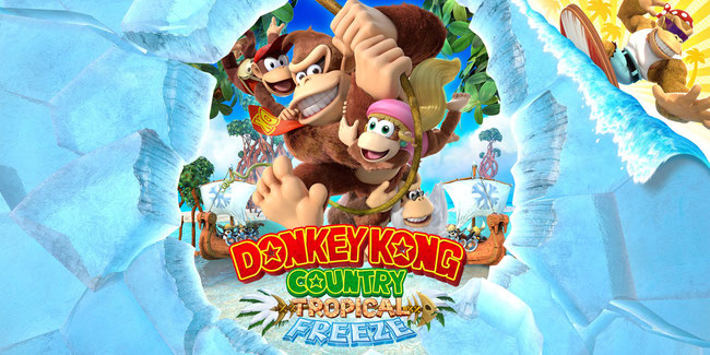 Donkey Kong, Diddy, Dixie, Cranky, Funky, Bananen, Nintendo, Country, Tropical Freeze, Switch, WiiU, Retro Studios, Viehkinger, König Qual,
