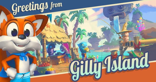 Super Lucky's Tale, Lucky, Playful, Xbox, Xbox One, Xbox One X, Microsoft, Jinx, Buch der Geschichte, Platformer, Jump & Run, Sidescroller, Kitty Litter, 4K, Gilly Island