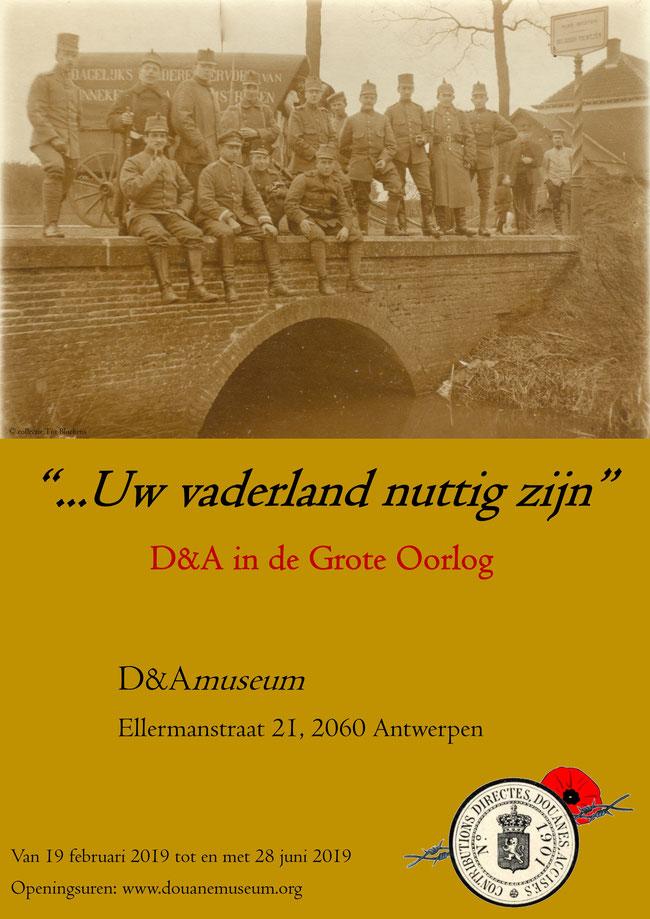 D&A in de grote oorlog - uw vaderland nuttig zijn affiche
