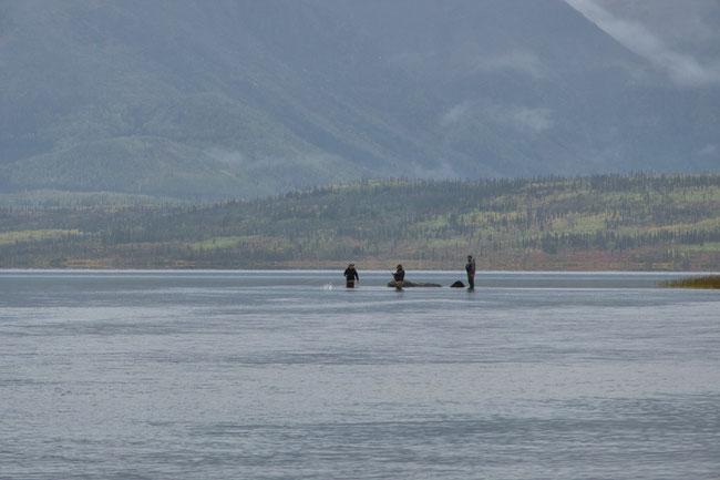 Flyfishing Walker Lake, Alaska