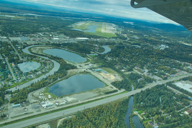 Fairbanks with Chena River