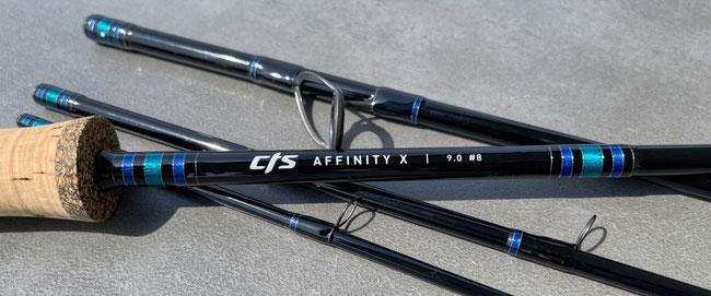 CTS Affinity X #8 9ft Jet Black