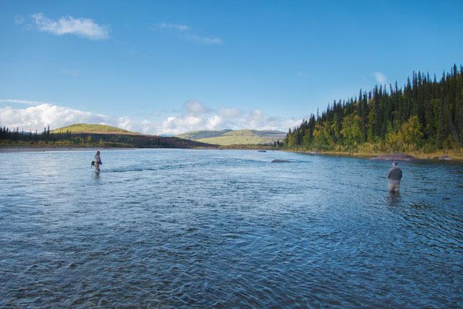 fly fishing Kobuk River Alaska