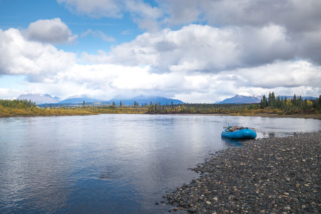 Floating Kobuk River