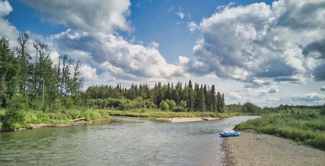 Buckstock River / Aniak River Alaska