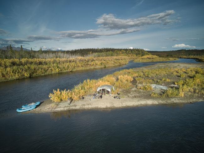 Camp on the Kobuk River