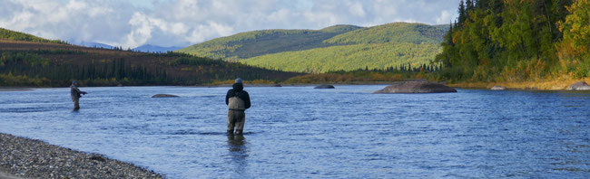 fly fishing Kobuk River Alaska