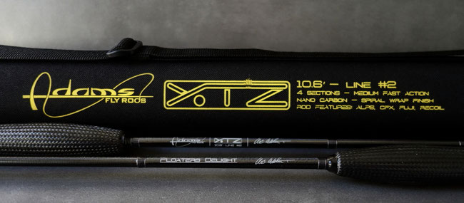Adams Flyrod XTZ 10.6 ft 2wt
