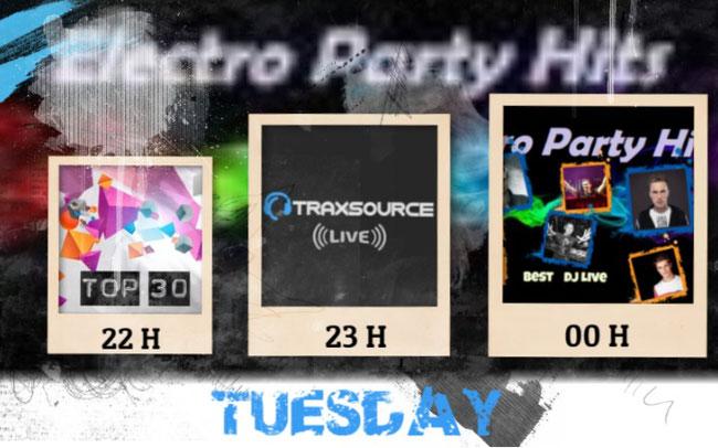 TRAXSOURCE live TOP30 DJ LIVE ROMERO GARRIX TIESTO
