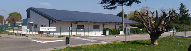 hangar  photovoltaïque corse