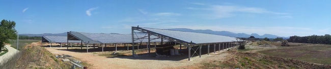 Hangar photovoltaique vaucluse avignon