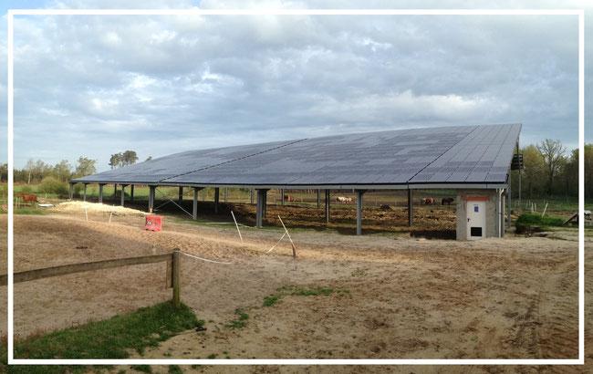 Man ge questre gratuit co solution nergie - Hangar photovoltaique agricole gratuit ...