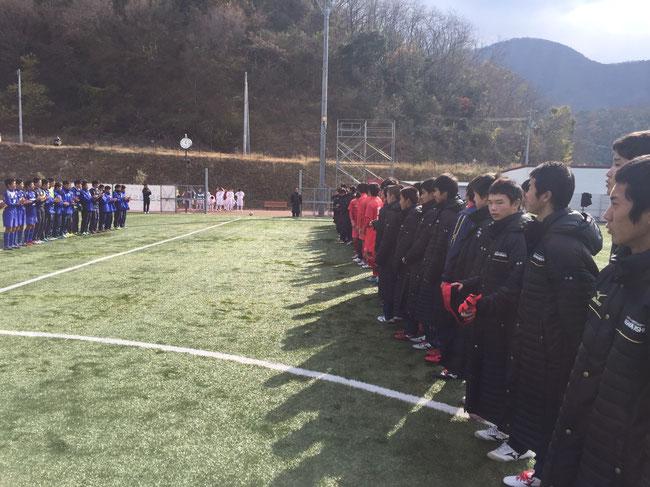 開幕戦 12月24日 四国学院大学香川西VS玉野光南