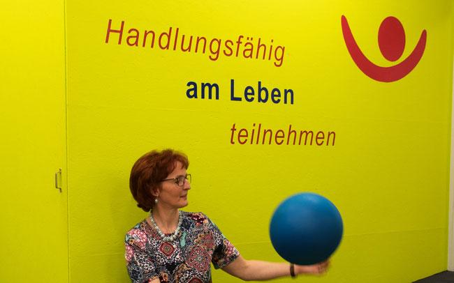 Ergotherapeutin Heidrun Barth stellt alle Bemühungen des Zentrums in Frick unter ihr Leitmotiv.