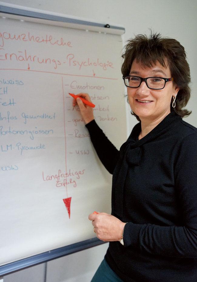 Brigitte Schürch verfolgt bei ihren Beratungen den ganzheitlichen Ansatz.
