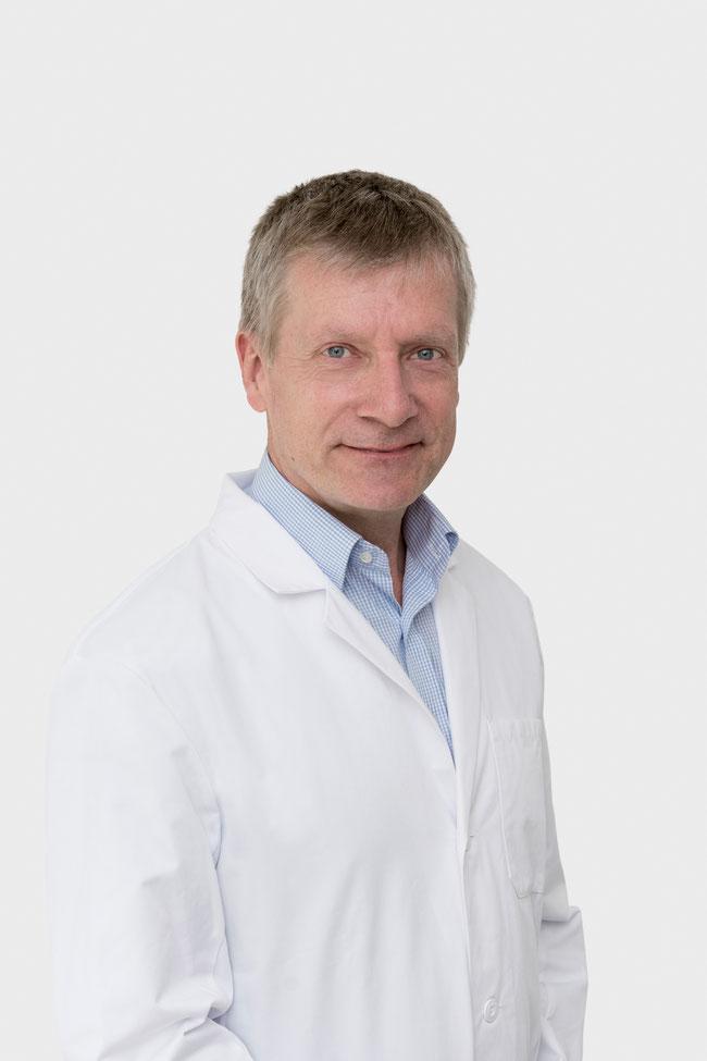 Dr. med. Christoph Steinborn ist Co-Chefarzt für Gastroenterologie am Bauchzentrum des GZF.