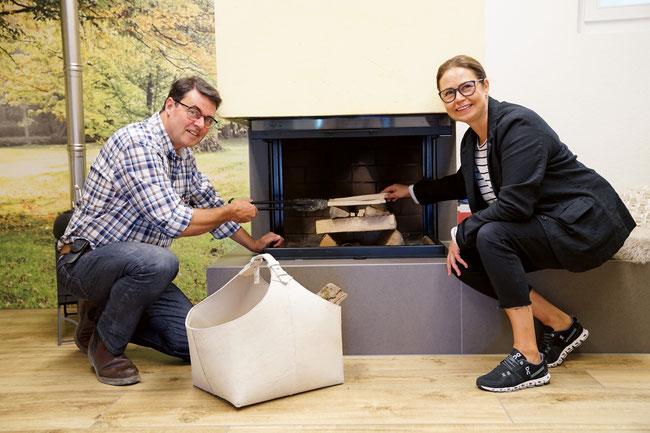Vinzenz und Irene Herzog befeuern ihr Unternehmen in der fünften Generation.