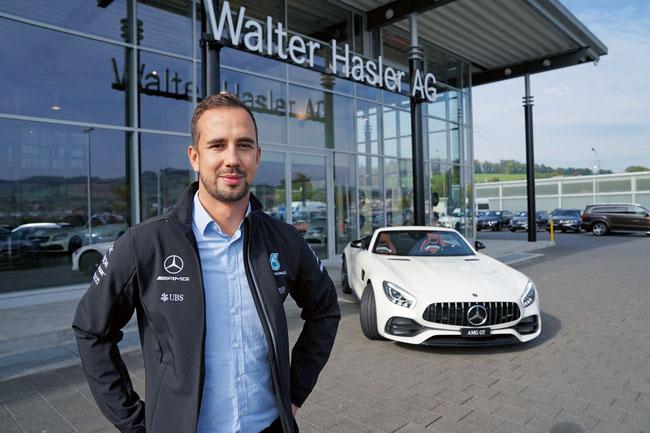 Will mit der Walter Hasler AG in Frick bester Mercedes-Benz Händler der Schweiz bleiben: der neue technische Leiter Stéphane Brandt.